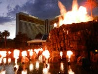 Volcano Mirage Hotel & Casino in Las Vegas